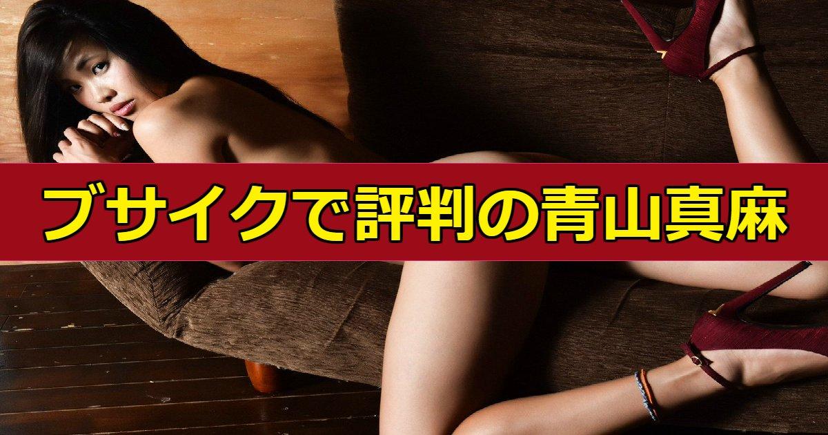 maasa.png?resize=732,290 - 袴田吉彦と「アパ不倫」で一躍話題になった青山真麻がブサイクと話題に、シングルマザーって本当?