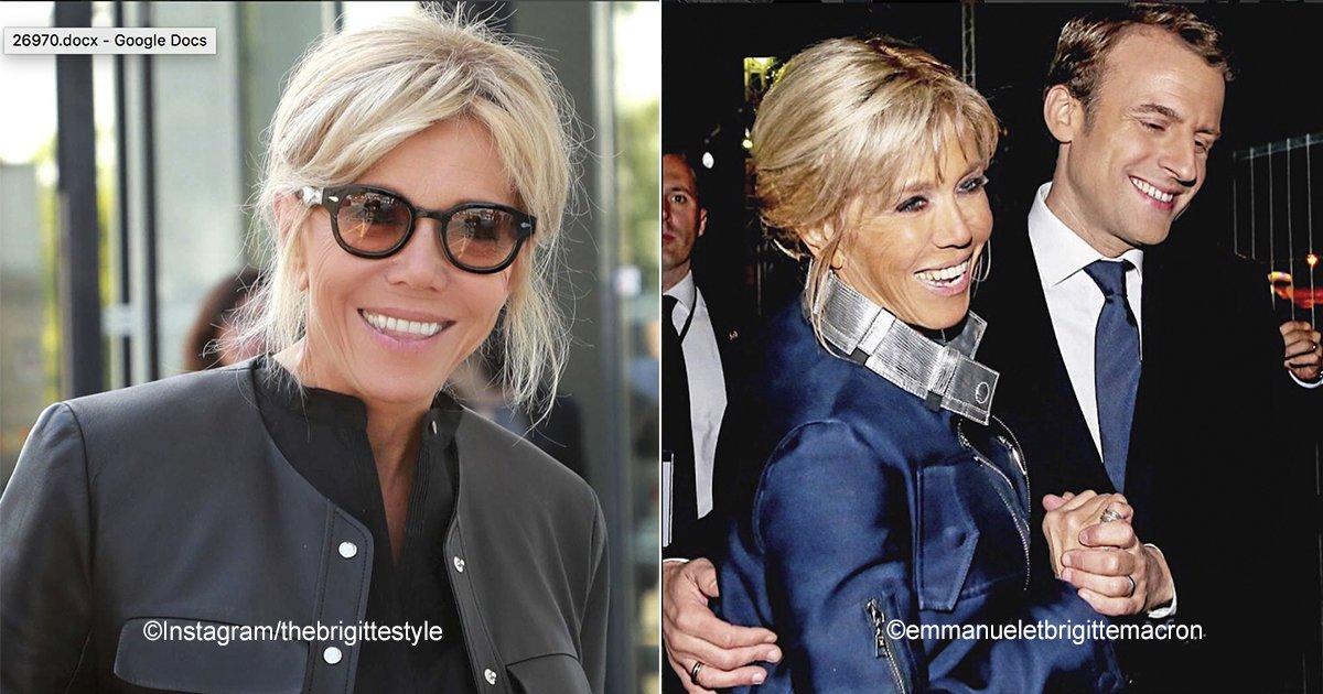 macro.jpg?resize=300,169 - Brigitte Macron, la Primera Dama de Francia crea polémica por su pasión por la moda