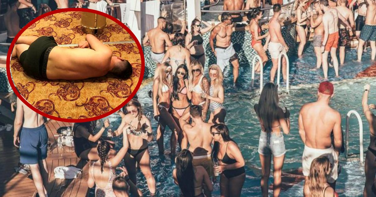 mad on ship.jpg?resize=636,358 - Passengers On Cruise Ship Said It Was Easier To Get Cocaine Than Alcohol, Then They Vomited In Pool