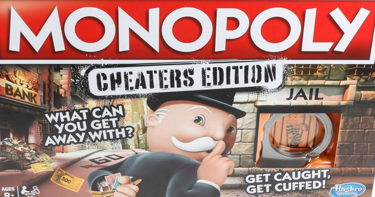 monopoly unveils an edition that is made specifically for cheaters.jpg?resize=1200,630 - Monopoly Unveils The Newest Edition That Is Made Specifically For Cheaters