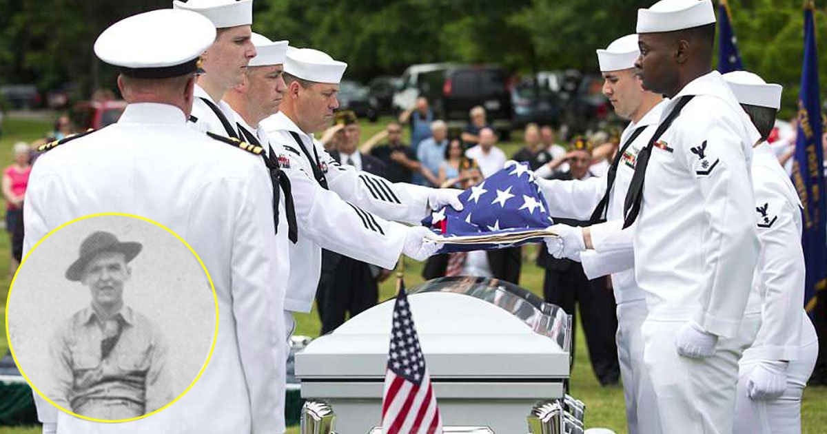 navy.jpg?resize=648,365 - The Brave Navy Man Returned Home After 77 Years And Was Then Buried With Respectful Service