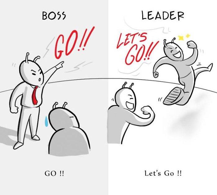 office cartoons differences boss vs leader healthy society 5b2a054b56ed2  700 1.jpg?resize=1200,630 - 8張圖讓你秒懂所謂「老闆」和「領導者」的差別,血汗員工淚推完全超中肯!