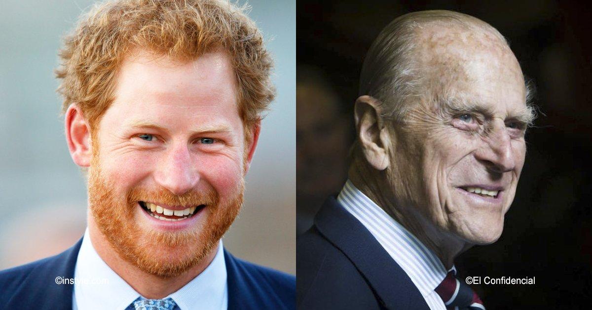 old.png?resize=300,169 - Esta impactante fotografía del príncipe Felipe revela cómo se verá Harry de viejo, el parecido es sorprendente