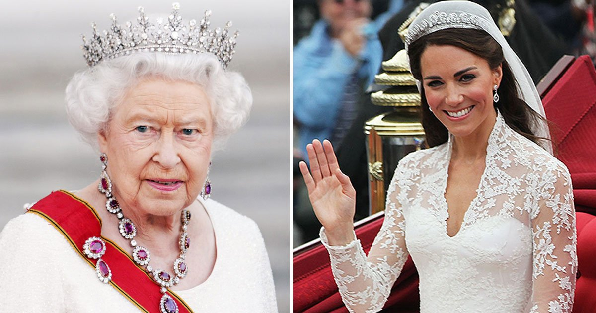 once the queen dies kate middleton could get a new title 1.jpg?resize=300,169 - Una vez que la reina muera, Kate Middleton podría obtener un nuevo título: así es como se llamaría a la duquesa de Cambridge