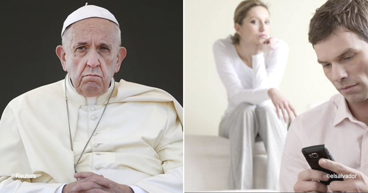 papa.jpg?resize=636,358 - Papa Francisco causa controvérsia ao dizer que é preferível que os casais se separem, ao invés de viver infelizes