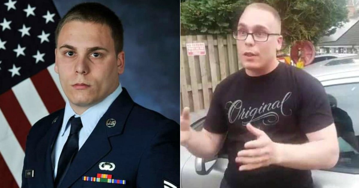 pedo 1.jpg?resize=412,232 - 30-Year-Old U.S. Airman Caught By Pedophile Hunters While Trying To Hook Up With A 12-Year-Old