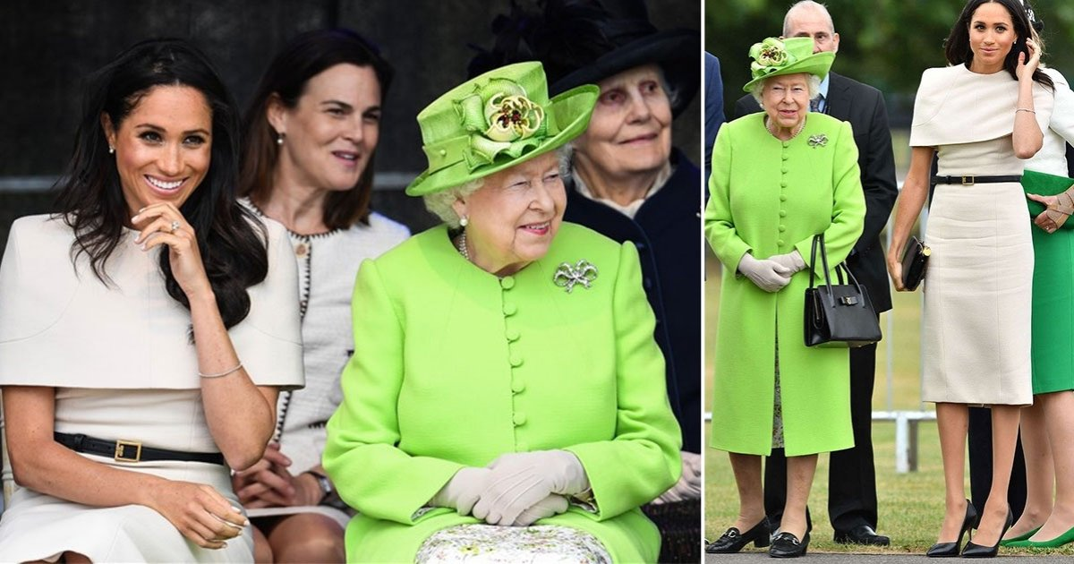 q side 1.jpg?resize=412,232 - Behavioral Expert Reveals About Meghan's 'Fidgeting Hands' On Her First Joint Engagement With The Queen