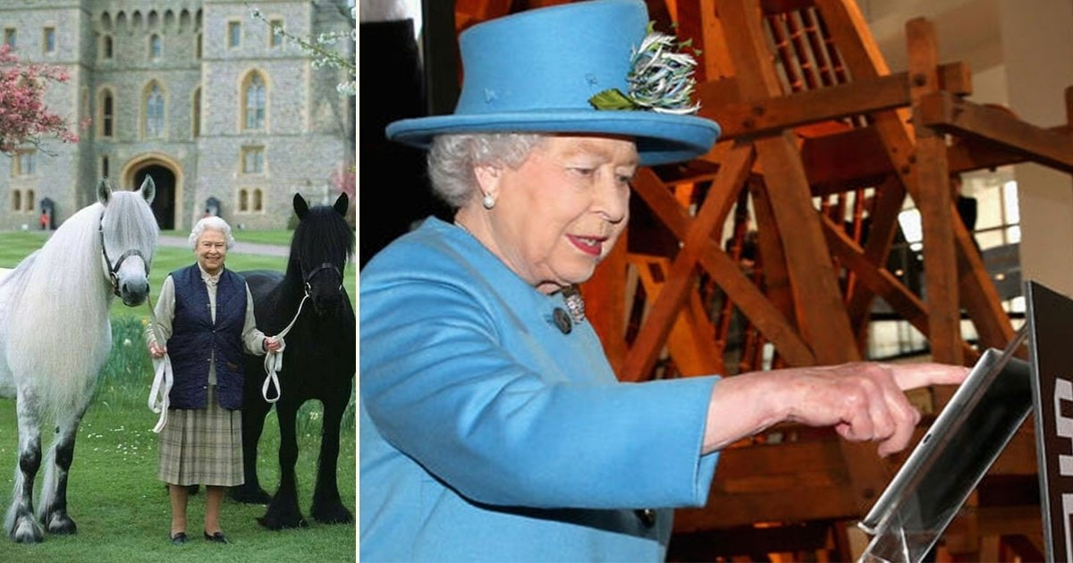 q side.jpg?resize=1200,630 - The Queen Embraces Technology As She Is Using iPad To Watch Her Thoroughbred Mares Give Birth At Sandringham's Royal Stud
