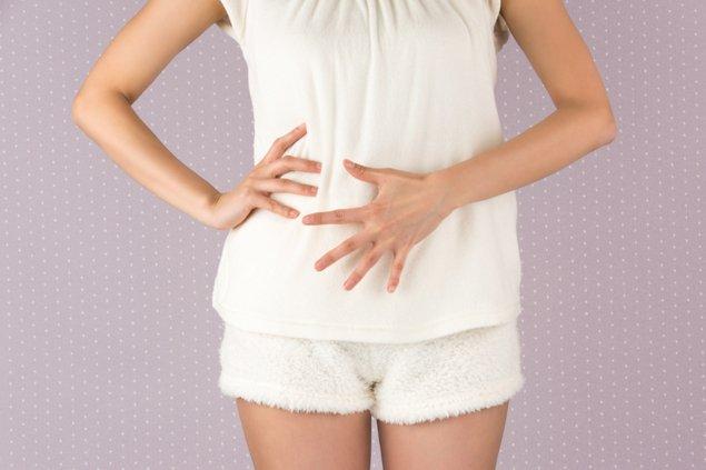 「子宮筋腫 お腹」の画像検索結果
