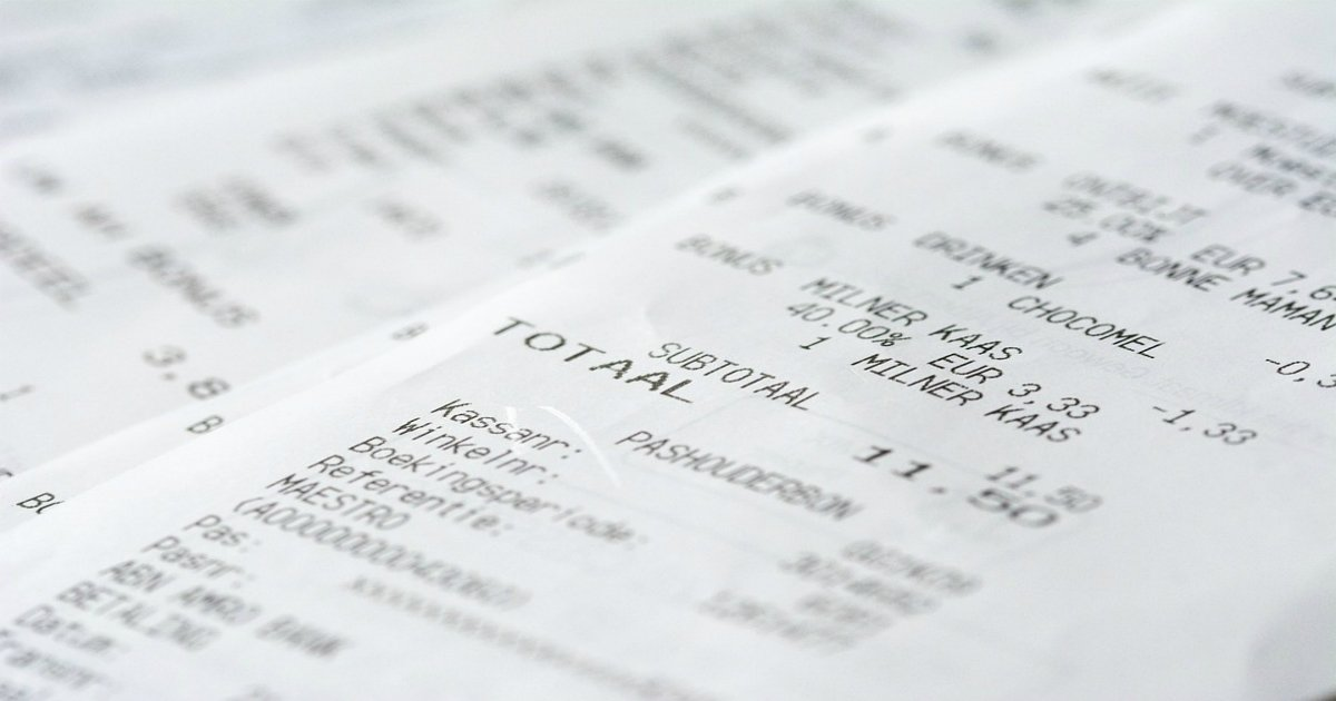 receipt 1274307 960 720.jpg?resize=1200,630 - '맨 손'으로 영수증 만지면 안되는 이유