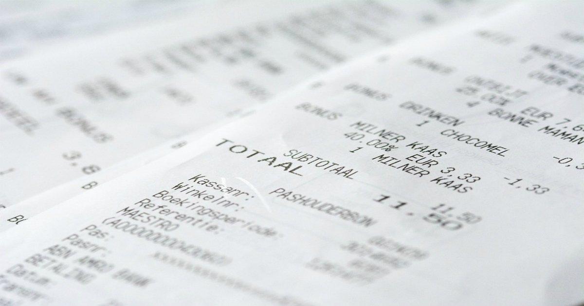 receipt 1274307 960 720.jpg?resize=648,365 - '맨 손'으로 영수증 만지면 안되는 이유