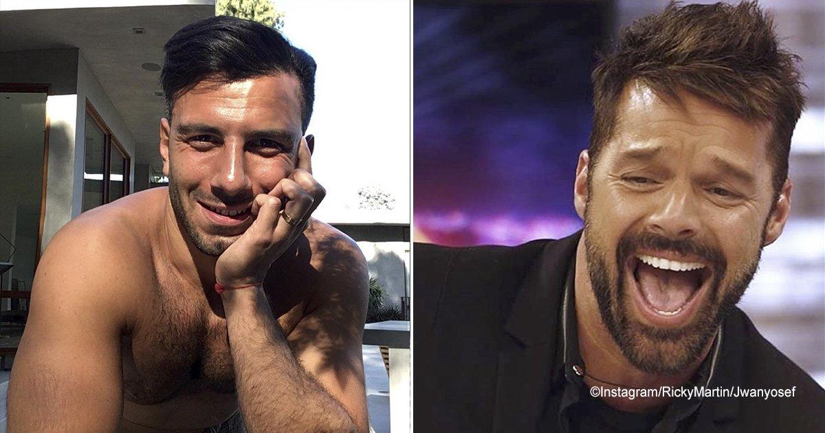 ricky.jpg?resize=1200,630 - Marido de Ricky Martin abala o coração da Internet ao aparecer em foto romântica com o cantor