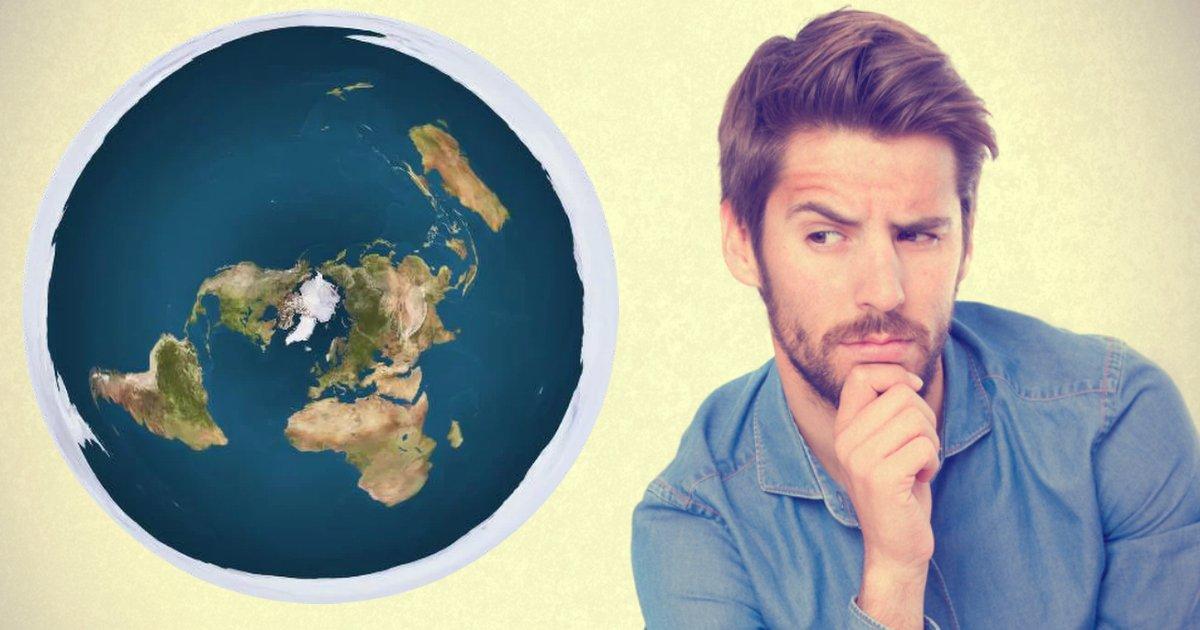 round earth.jpg?resize=412,232 - Ce mec prouve que la Terre n'est pas plate. Trouvez-vous que la façon dont il l'explique est brillante?