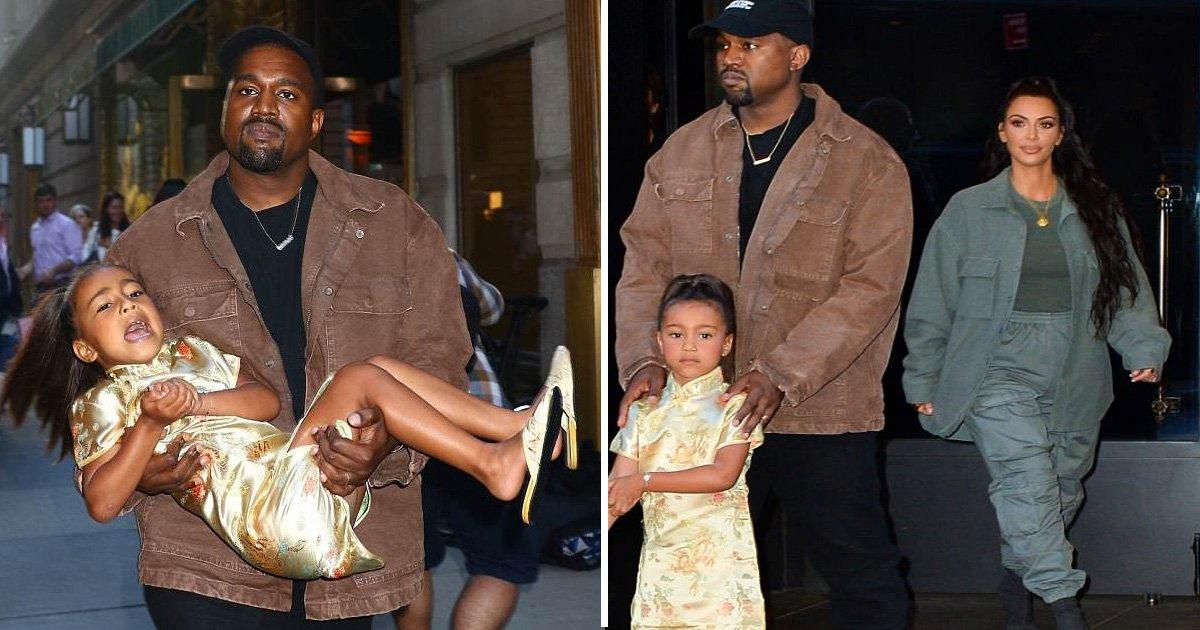 sdafdf.jpg?resize=300,169 - Kanye West porte sa fille très mécontente pour sa fête d'anniversaire à New York