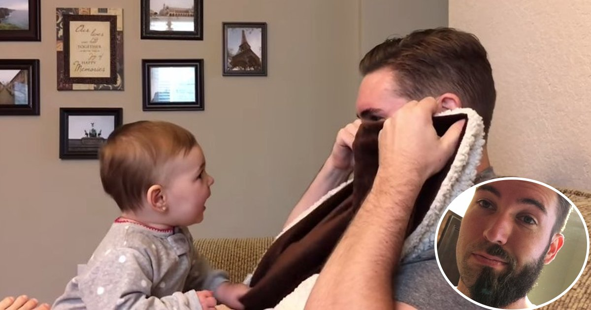 shave.jpg?resize=1200,630 - Father Shaved His Beard Off, Adorable Daughter Couldn't Recognize Him
