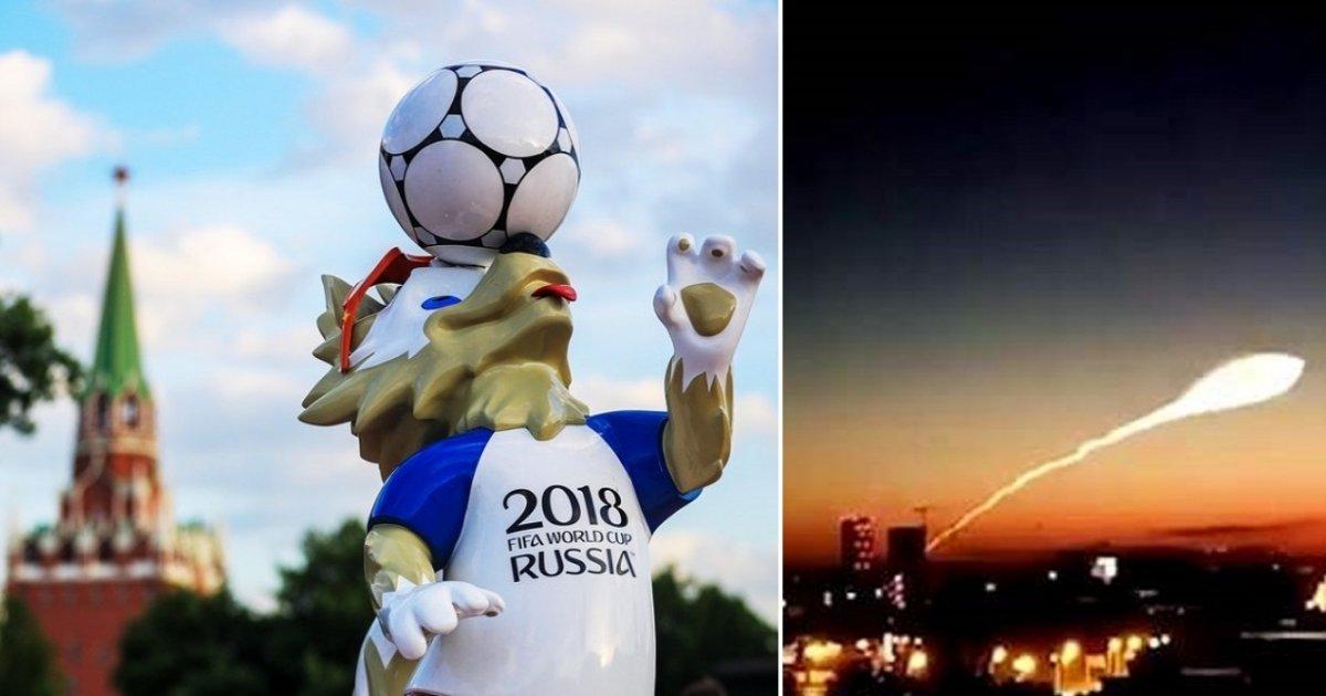 ufo.jpg?resize=1200,630 - Será que os ET's estão assistindo a Copa do Mundo? 'OVNI' gigante é avistado durante a Copa do Mundo na Rússia