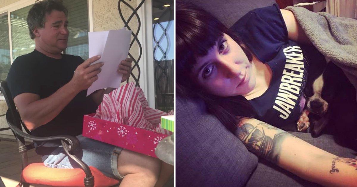 unexpected gift.jpg?resize=300,169 - Moment réconfortant, une fille donne un cadeau incroyable à son beau-père pour la fête des pères