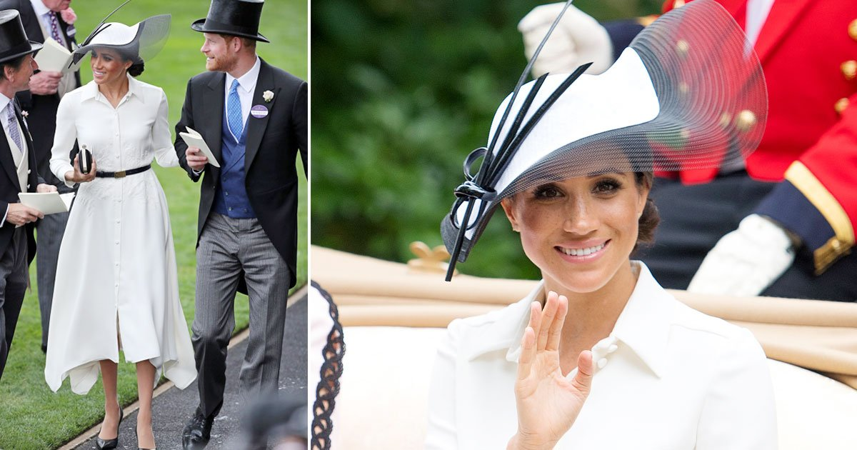 untitled 1 136.jpg?resize=636,358 - Meghan Puts a 'Cool and Contemporary' Twist On Ascot Glamour at the Royal Ascot