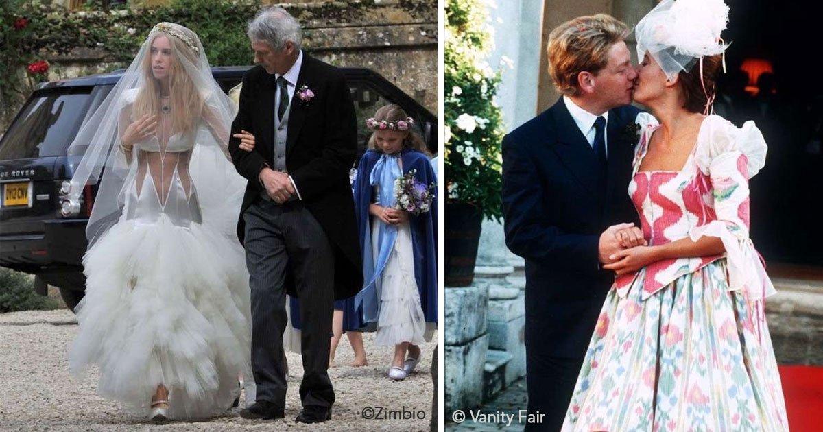 untitled 1 15.jpg?resize=412,232 - 10 celebridades que no tuvieron una buena decisión al elegir su vestido de boda, aunque sus intenciones fueran lo contrario