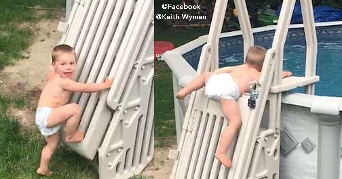 untitled 1 182.jpg?resize=300,169 - Pusieron una protección para que su bebé no pudiera caer en la piscina, pero esta barrera no funcionó.