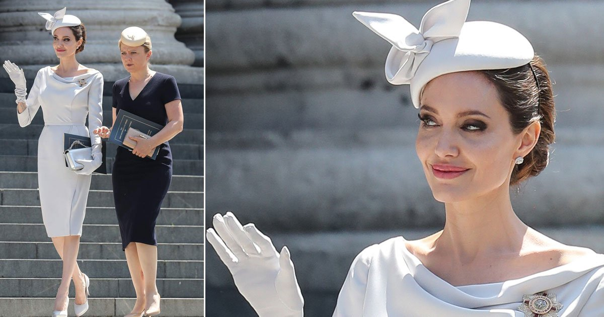 untitled 1 193.jpg?resize=636,358 - Angelina Jolie Steals The Show As She Arrives To Attend The Dedication Service At St Paul's Cathedral