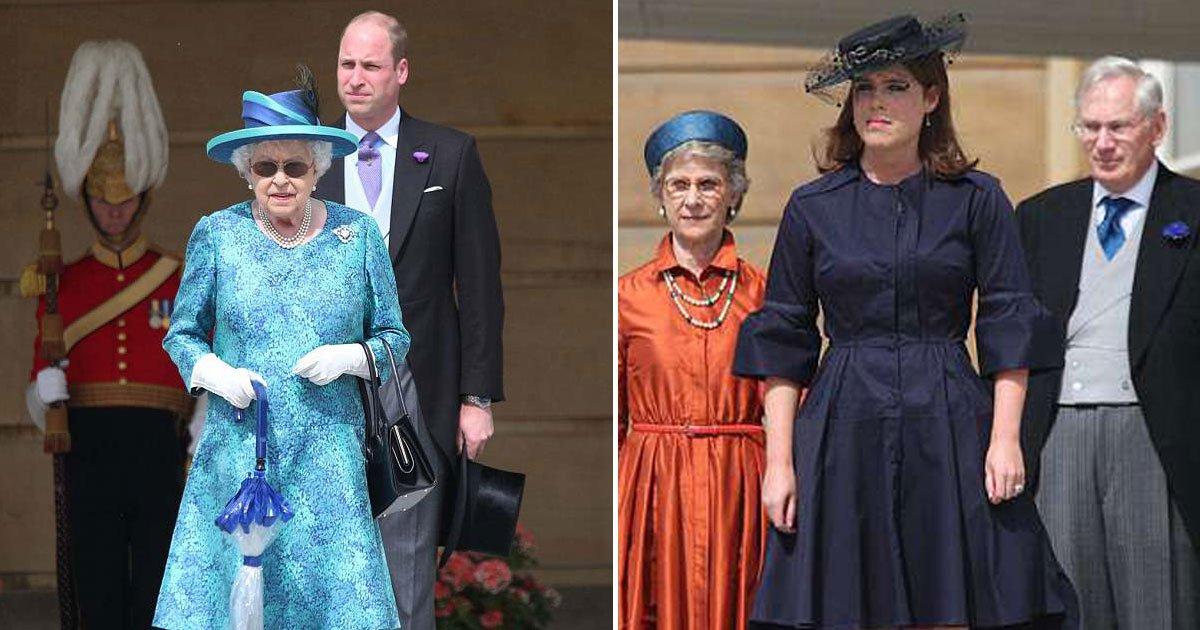 untitled 1 3.jpg?resize=648,365 - La reine Elizabeth a lancé une super garden-party à Buckingham avec le prince William et la princesse Eugénie