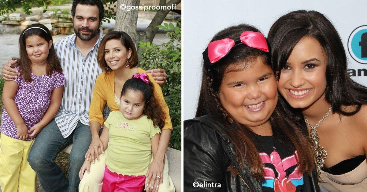 untitled 1 75.jpg?resize=648,365 - A irmã de Demi Lovato já é uma mulher e não se parece com aquela garota que interpretou Juanita Solis em Desperate Housewives.