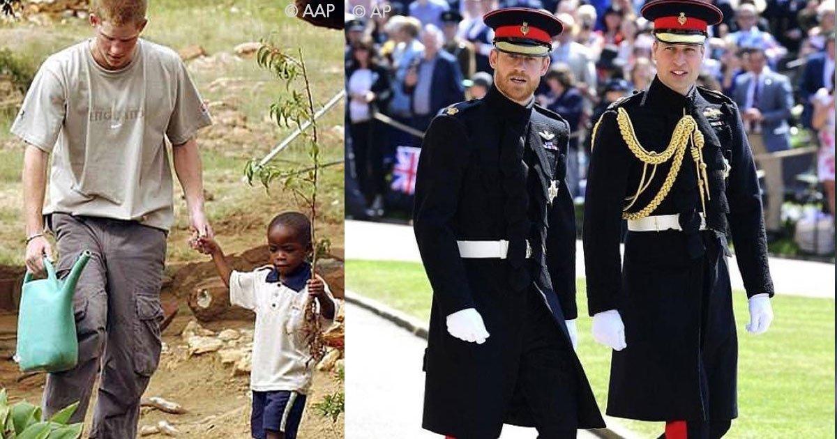 untitled 1 8.jpg?resize=300,169 - Harry conoció a este joven cuando tenía 4 años y verlo en su boda fue algo que definitivamente lo emocionó.