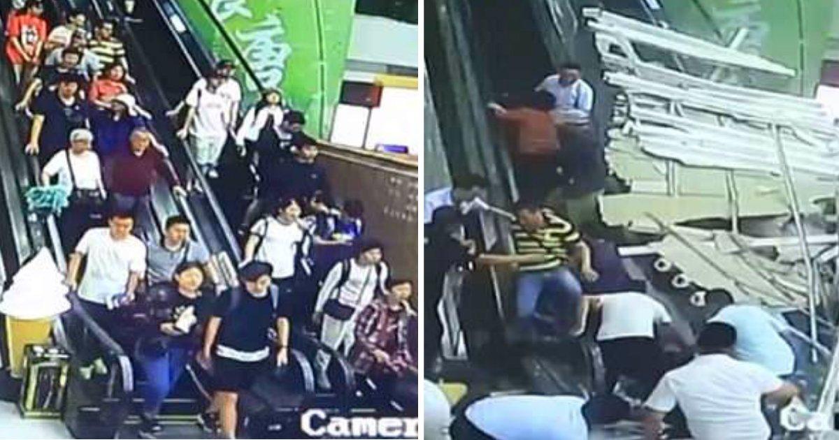untitled 14.jpg?resize=648,365 - 에스컬레이터에서 갑자기 무너진 '천장'에 깔린 관광객들 (영상)