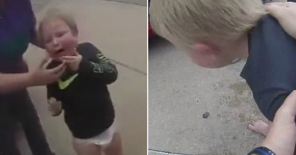 untitled 8.jpg?resize=648,365 - 목에 동전 걸려 '질식'할 뻔했던 아이, '우연히' 지나가던 경찰 덕분에 살다 (영상)
