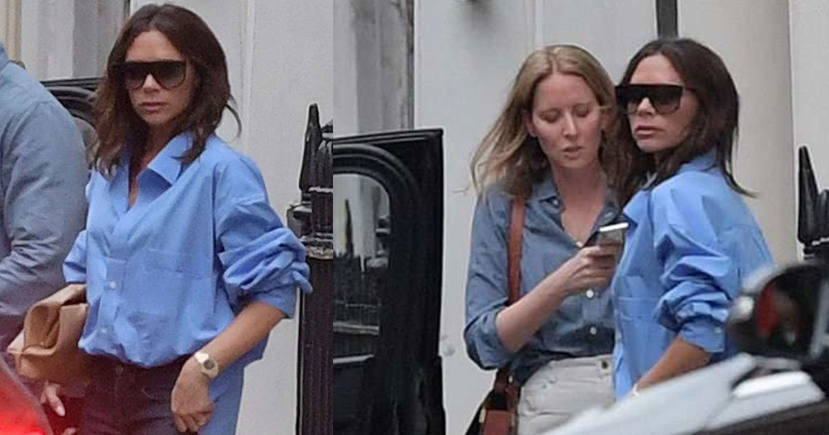 victoria beckham has seen first time after denying the rumors of divorce with husband david.jpg?resize=648,365 - Victoria Beckham Seen First Time After Denying The Rumors Of Divorce With Husband David