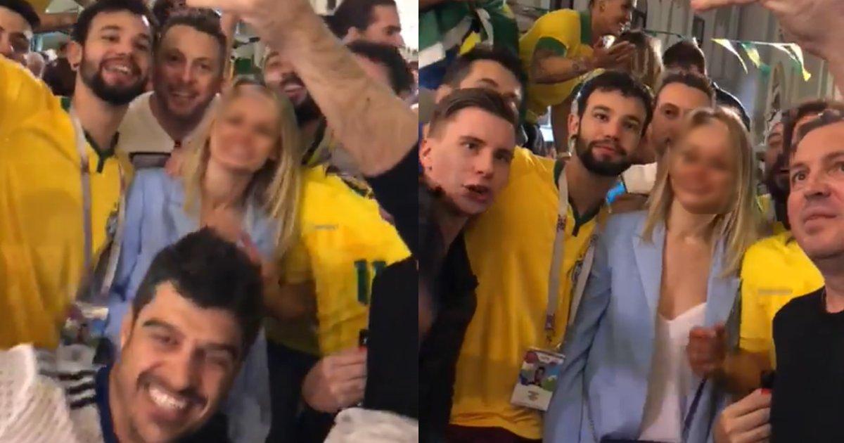 video copa.png?resize=1200,630 - 'Tempestade em copo d'água', afirma brasileiro de vídeo machista