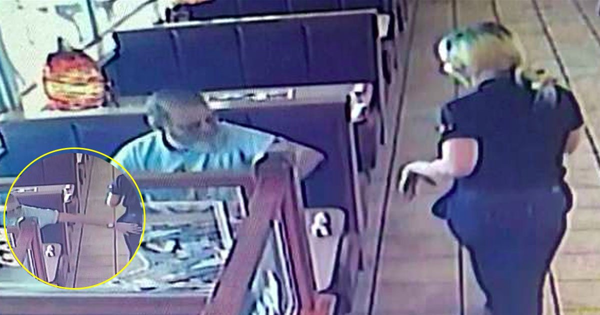 waitress.jpg?resize=648,365 - A 65 Year Old Man Slapped A Waitress On Her Backside, Found Guilty In CCTV, Jailed For 1 Year