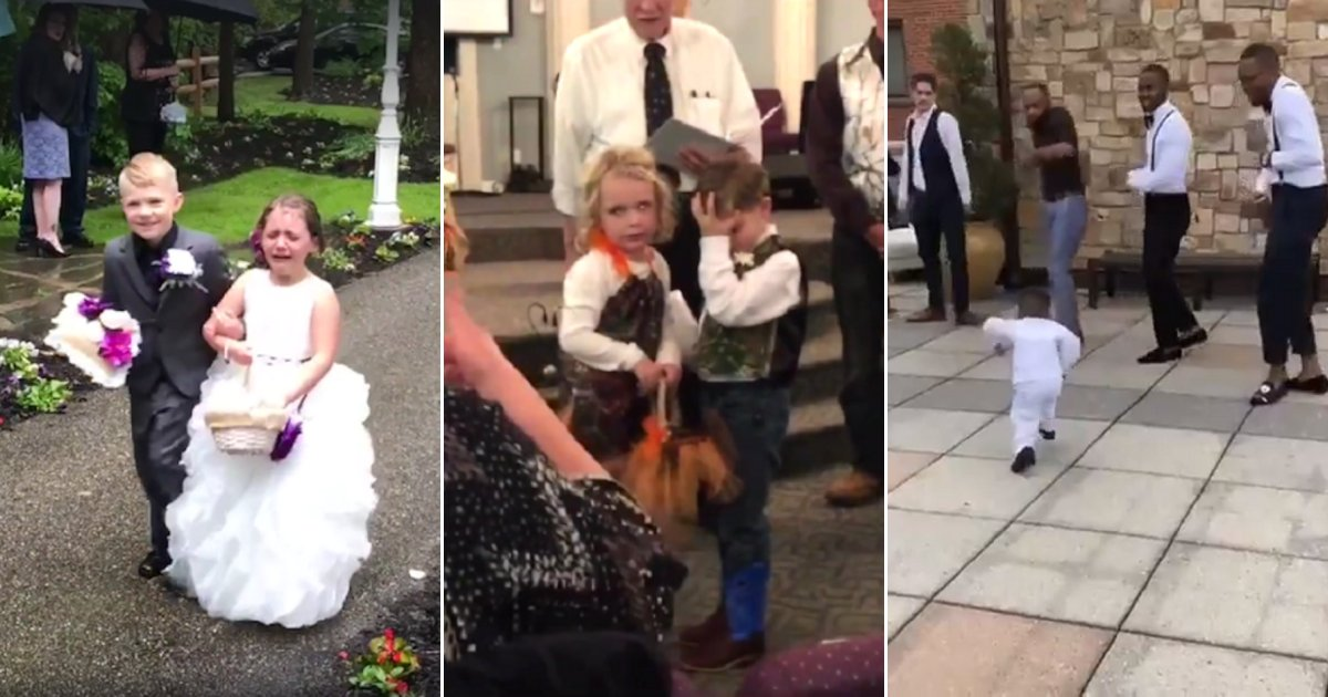 wed.png?resize=1200,630 - Funny Compilation Of Kids Who Have Their Own Ideas Of What To Do During Weddings