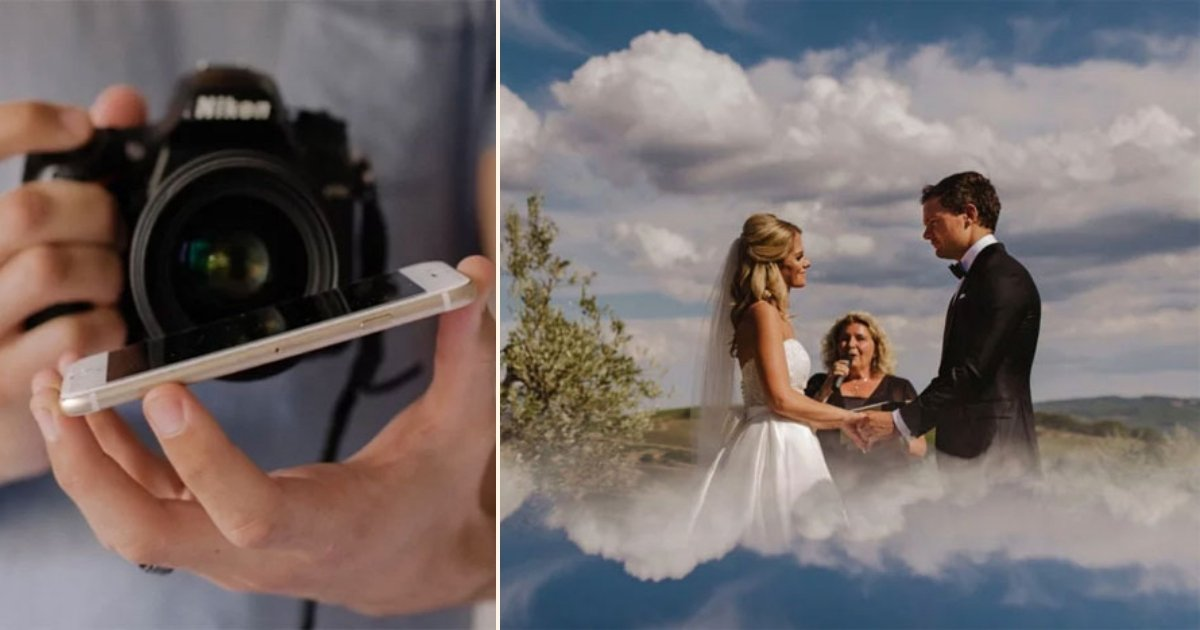 ww side.jpg?resize=412,232 - Wedding Photographer Shares A Ridiculously Simple Photography Trick And The Results Are Stunning!