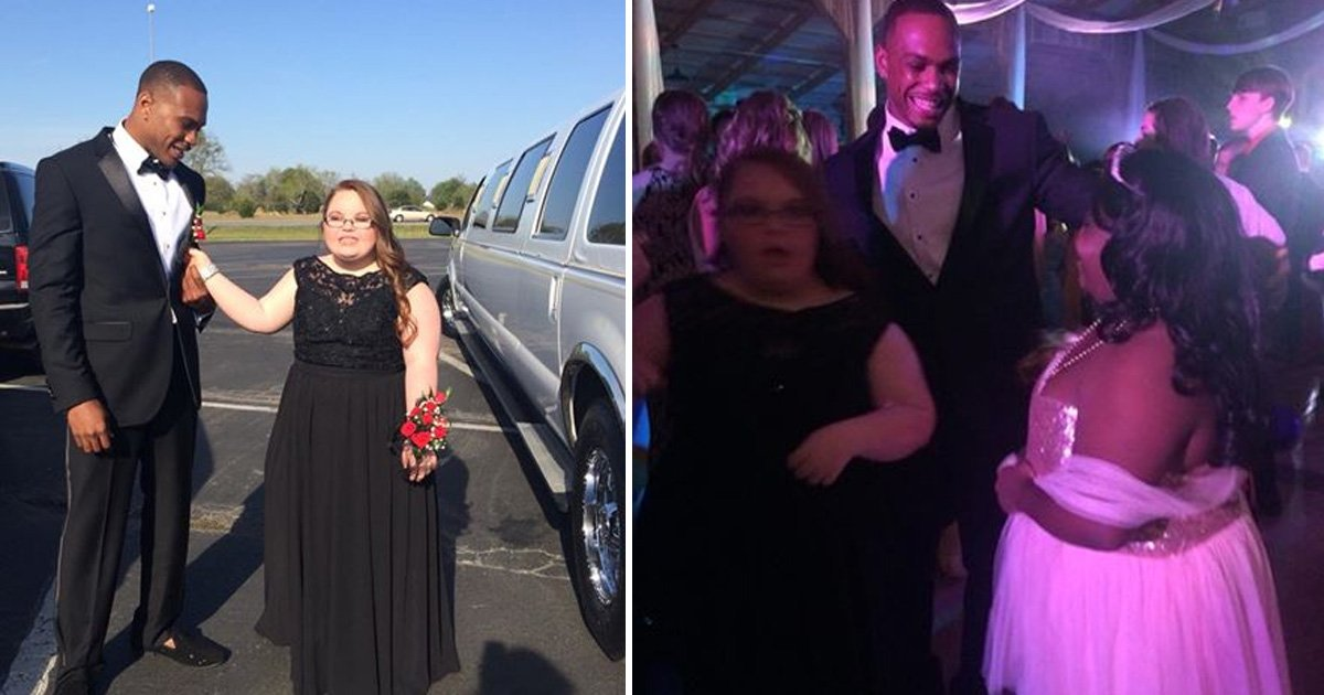 yad.jpg?resize=636,358 - Nfl Player Accompanied A Girl With Special Needs To Her High School Prom