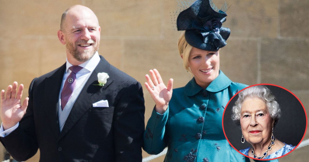 zara and mike tindall baby name elizabeth.jpg?resize=636,358 - Zara And Mike Finally Revealed Their  Second Daughter's Name