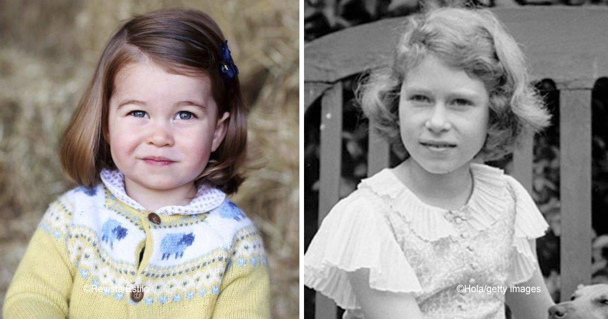 12 58.jpg?resize=412,232 - El impactante parecido que tiene la princesa Charlotte con su mamá, abuela y bisabuela