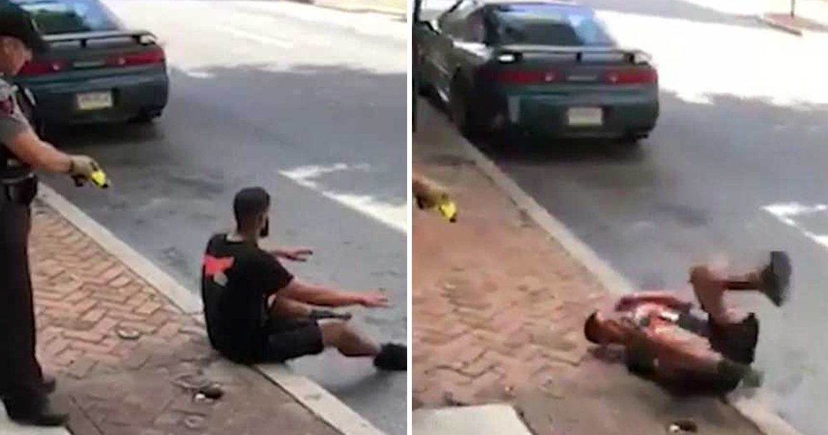 2 4.jpg?resize=648,365 - Police Officer Criticized For Using Excessive Force For A Minor Arrest