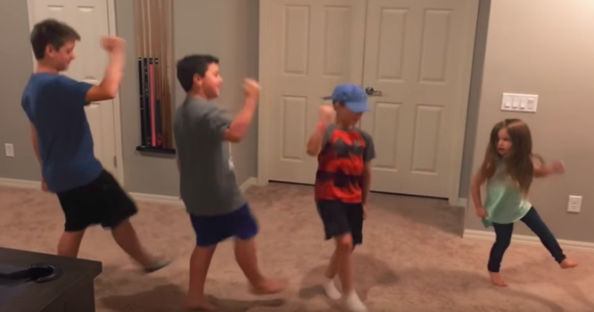 2 66.png?resize=1200,630 - Little Girl Was Dancing To 'Fortnite' And Then Her Older Brothers Joined Her