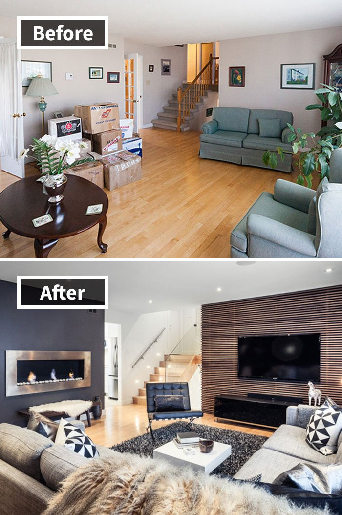 Living Room Transformation
