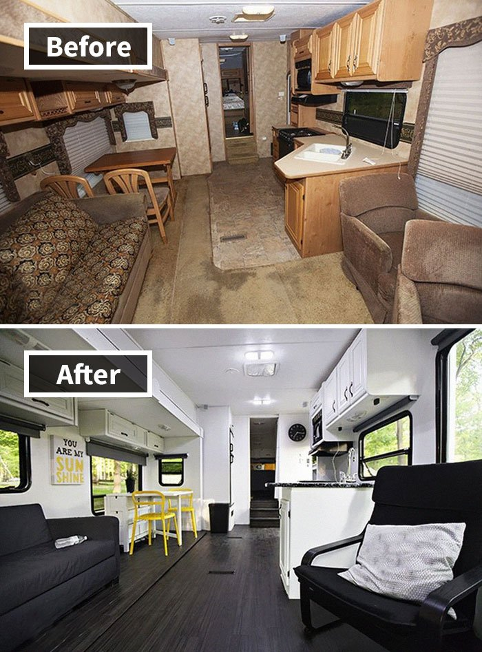 Remodeled Fifth Wheel Camper