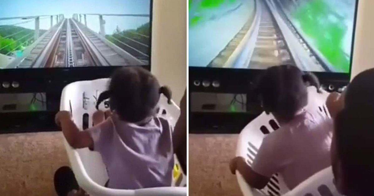 5 12.jpg?resize=648,365 - '수제 VR'... 아빠가 딸을 위해 만든 '빨래 바구니' 롤러코스터 (영상)