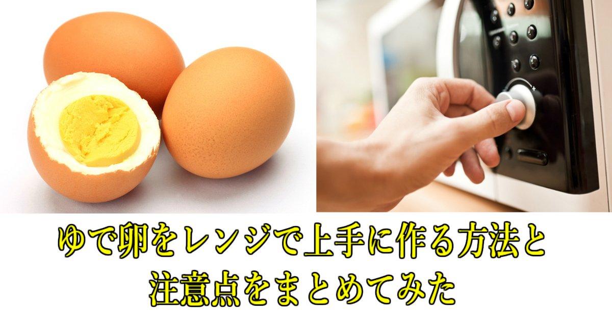 6 119.jpg?resize=1200,630 - ゆで卵をレンジで上手に作る方法と注意点をまとめてみた
