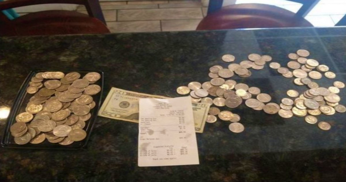 a 16.jpg?resize=412,275 - People Hit Back At Virginia Restaurant That Publicly Shamed Teen For Paying Bill With Quarters