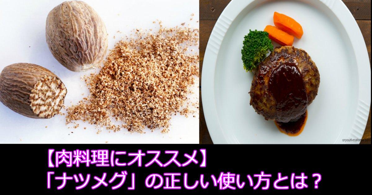aaa 3.jpg?resize=300,169 - 【肉料理にオススメ】「ナツメグ」の正しい使い方とは?