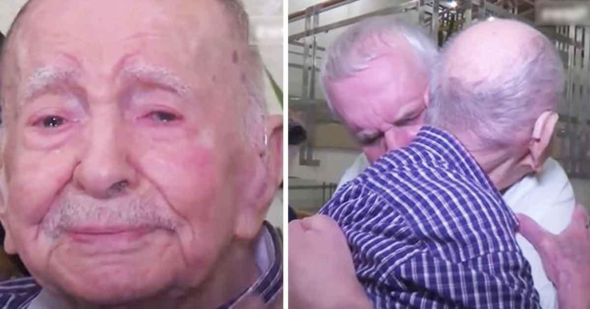 adfaaa.jpg?resize=412,232 - Un homme de 102 ans pensait que son frère était décédé au cours de la Seconde Guerre mondiale. 70 ans plus tard, il rencontre le fils de son frère