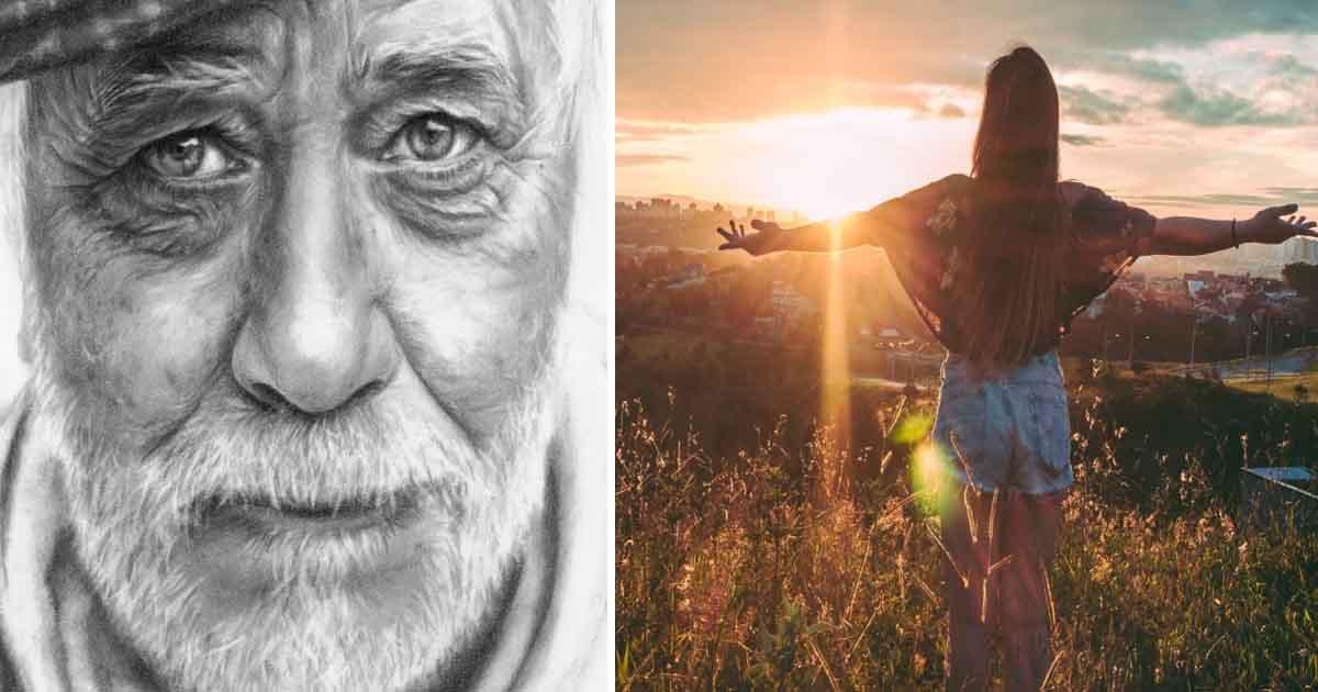 adfaf 1.jpg?resize=1200,630 - La réponse sincère d'un vieil homme a aidé une jeune femme à faire face au chagrin et à la douleur