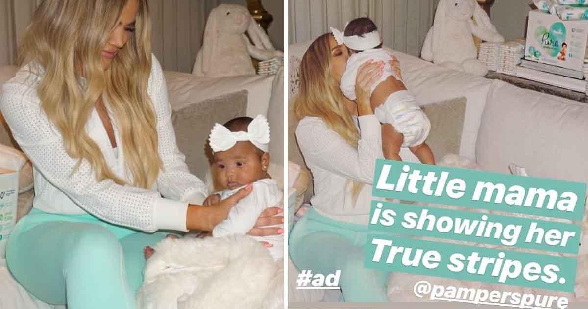 adfasd 1.jpg?resize=412,232 - Khloe Kardashian partage une série de photos adorables avec sa fille