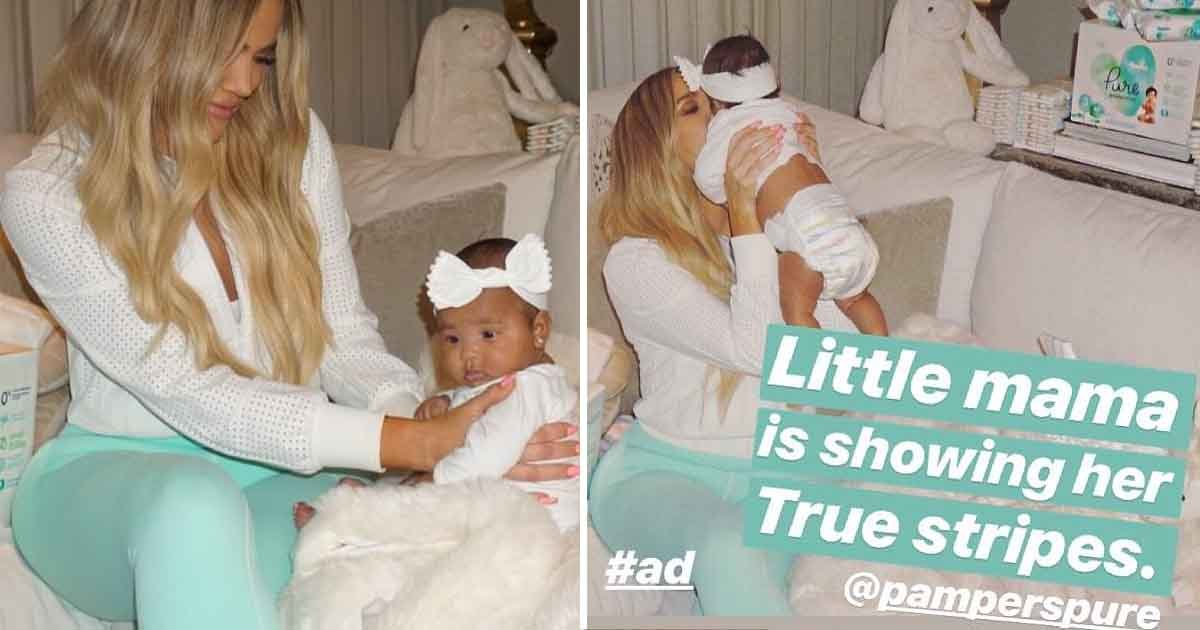 adfasd 1.jpg?resize=636,358 - Khloe Kardashian Shares A Series Of Photos Of Her And Daughter True Both Looking Angelic In Similar Attire